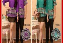 busana couple batik