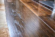 Dark wood floors by AH Peck Flooring