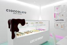 showroom / display / facades / by harry