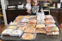 Freezer Meals / Make Ahead and Go!