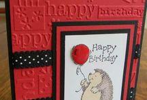 Happy Birthday Emb. Folder