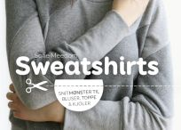Sweatshirts / Med udgangspunkt i en grundmodel viser Sweatshirts hvor let det er at designe og sy dine egne sweatshirts (M/K). Alle modellerne syes efter samme enkle fremgangsmåde, der tager nybegyndere i hånden, og samtidig inspirerer de rutinerede. Med enkle greb kan grundmodellen forvandles til toppe, bluser, kjoler.