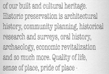Historic Preservation Basics