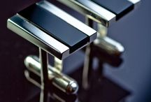 MY PROJECT-CUFFLINKS / Cufflinks made for a special order, siver and onyx, hand-crafted