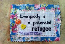 Craftivism badges ideas