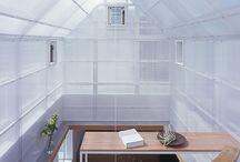 透明な建物