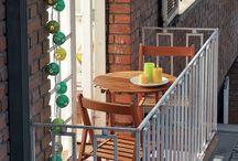 Balkon - balcony - terrace