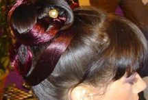my chignons... / Hairs , chignons, cérémonie
