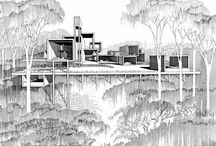 Architectural Sketches / drawings