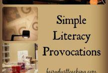Reggio Literacy Activities