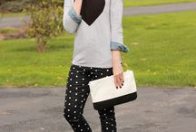 Polka dots. A hint of print