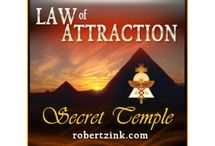 Law of Attraction / The is a total resource board for the Law of Attraction, personal empowerment, success, abundance, prosperity, love etc.