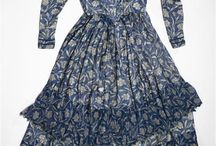 Fabrics from the 19th century / Prints and weaves from the 19th century.