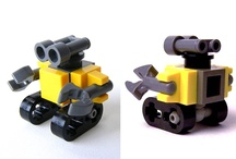 Mini Lego Wall-E