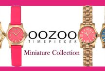 OOZOO TIMEPIECES! MINIATURE Collection!