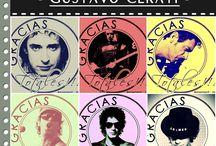 Recursos Artísticos - @argentamlf / Pack N° 1 - Rock Nacional - Gustavo Cerati - @argentamlf - 2014.