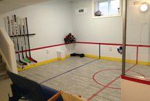 Hockey basement