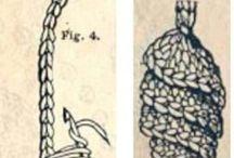 Вязанные шышки