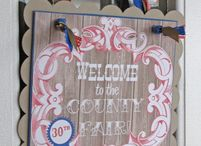 County Fair Party Ideas / by Sassaby Parties
