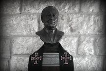 """Fr. Theodore Hesburgh, C.S.C. 1917-2015 / Fr. Theodore Hesburgh, known as """"Fr. Ted,"""" passed away on February 26th, 2015.  Fr. Ted was the driving force behind the creation of Tantur.  May his memory be eternal."""