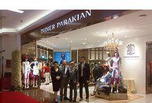 Inauguration de la 35° boutique Didier Parakian en Chine, à Harbin