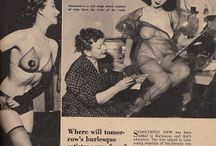 Vintage Strippers, Prostitutes, Burlesque and Ziegfeld Follies