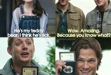 Supernatural / All things from the TV show supernatural. Including Destiel. A lot of Destiel.