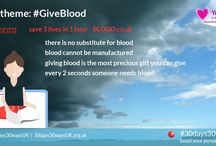 #prepared #health #GiveBlood / No one knows when disaster will strike but every disaster has victims and many victims need blood. Preparedness includes giving blood because there is no substitute in an emergency. Check out these FREE UK RESOURCES from trusted partners. Find out more about #30days30waysUK by visiting the website at http://30days30waysUK.org.UK