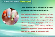 StyleThoseNails-Featured Artists / Get inspired and know more about your favourite nailartists. Click on the picture to read more about their nailart journey ! at http://stylethosenails.blogspot.com