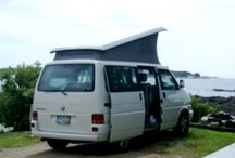 On the Road / traveling the US and Canada in my VW Eurovan