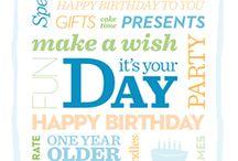 Happy Birthday / by Laura Guida