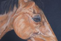 Pet & Horse Portrait Cards & Other Animals by Alison Holmes / A selection of card images from North West UK Artist Alison Holmes.  Choose your picture and card size, add your messages and select your charity - personalised charity greetings card from just £3.99 and delivered free in the UK! https://www.doodle-doo.co.uk/artist/Alison-Holmes