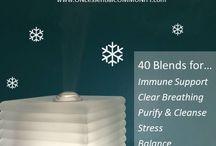 Oils Diffuser Recipes Fall-Winter