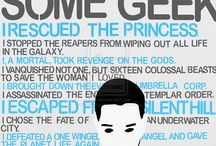 Geek and Nerd Stuff / by Taryn Roberts