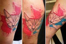 Tetování / Tetování, která jsem již vytetoval.