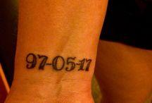 Mina tatueringar / Bilder på mina tatueringar