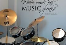 Home musicstudio ideas / Ideas to decorate my home musicstudio