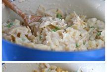 Recipe / Cheesy tuna cass