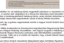 1921. évi XLVII. tc. Magyar Királyság - Kingdom of Hungary / Királyság államforma megerősítése és a Habsburg ház trónfosztása