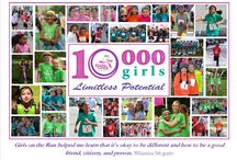 """Celebrating 10,000 GOTR of WNC Girls! / Girls on the Run of WNC served its 10,000th girl this year, and we are looking for GOTR and/or GOT alumnae to help us tell our """"herstory"""" through photos (then and now), reflections and stories about what it was like to be a GOTR of WNC alum. Are you boldly pursuing your dreams? Are you navigating life with joy, health and confidence? Tell us!"""