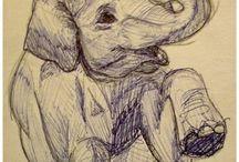 Elephant / tattoo ideas