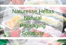 Natural Packaging Solutions PLA / PLA is bio plastic made from natural materials, fully biodegradable / Το PLA είναι πλαστικό από φυσικά υλικά, πλήρως βιοδιασπώμενο