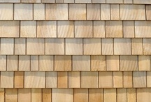 Western Red Cedar Shingles / Western Red Cedar shingles are a fantastic natural roofing material that adds character. They're also eco-friendly as they use less carbon during manufacturing than man-made materials.