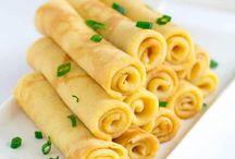 Crepe recipes, sweet & savoury