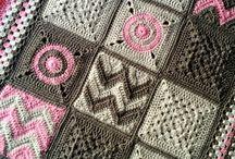 pink grys blanket