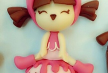 kawaii  girls clay