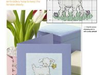 Cross Stitch - Sheeps