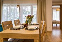 Livingroom Smrekowej Polany / Apartamenty Smrekowa Polana  Salon, kuchnia, sypialnia, łazienka