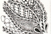 ZENTANGLE Shelly Beauch