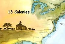 6 Colonies / social studies / by Marsha Henderson